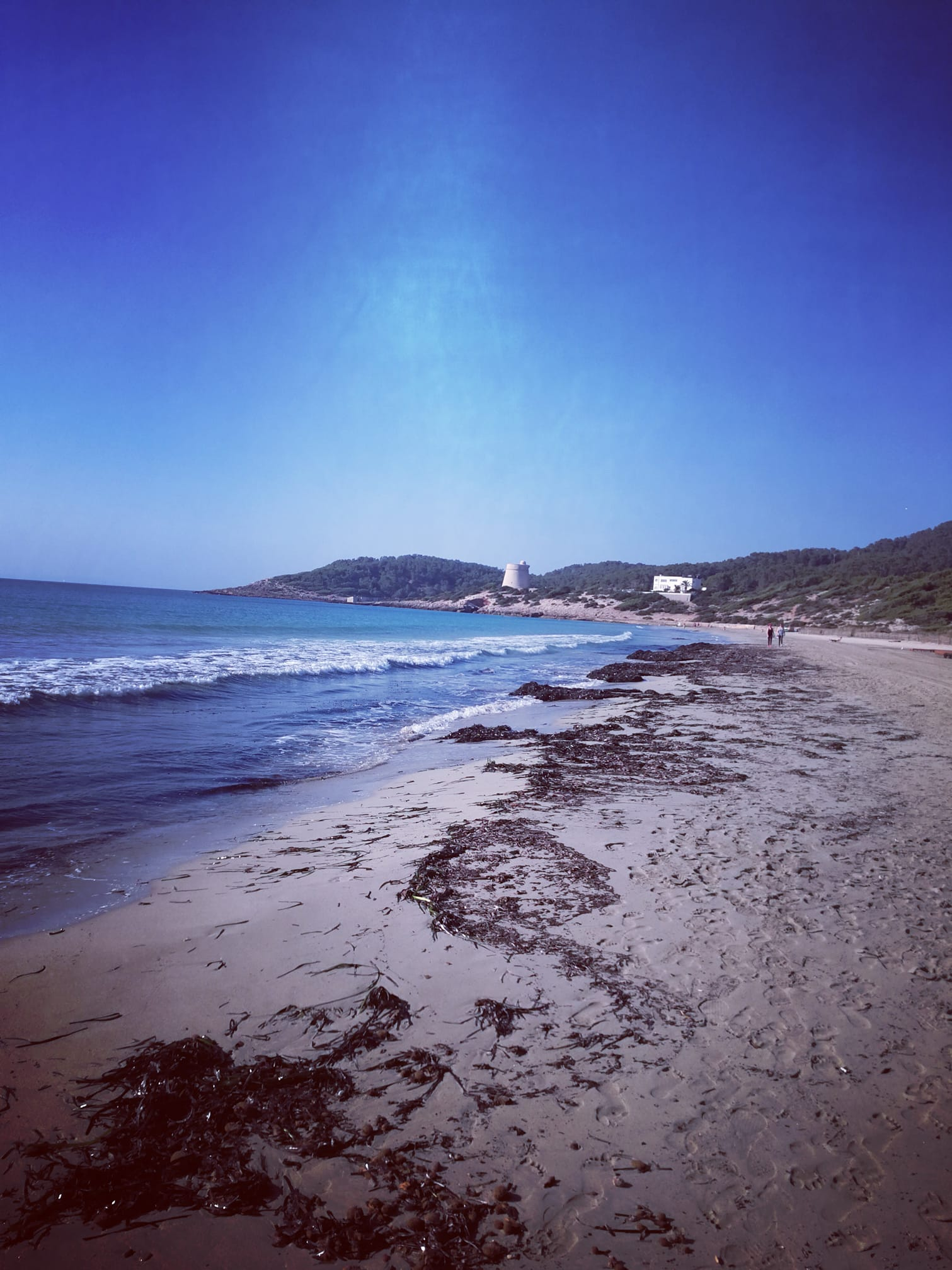 Karin Maier in Urlaub am Meer